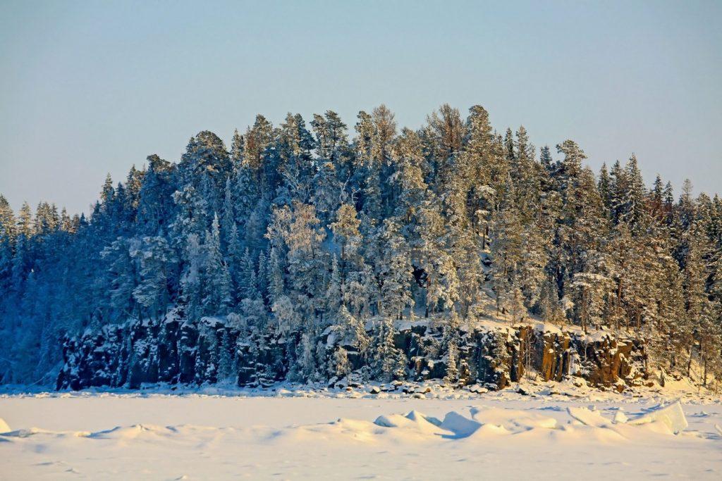 Зимний Валаам