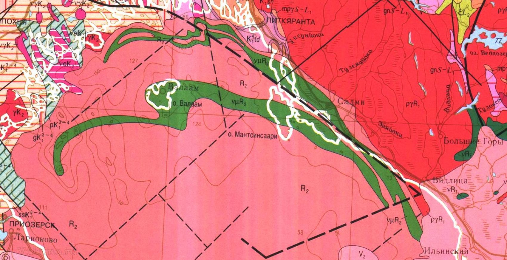 Валаамский силл (Валаамско-Салминская островная гряда)