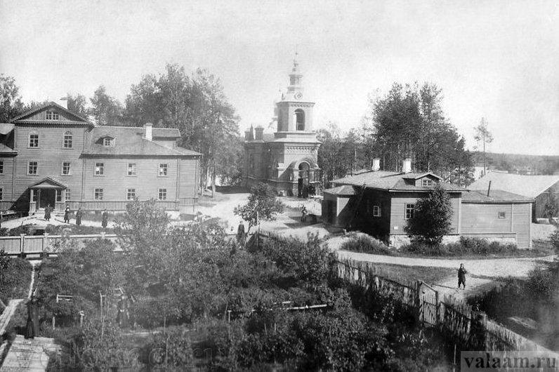 Германовский скит Валаамского монастыря в период рассвета