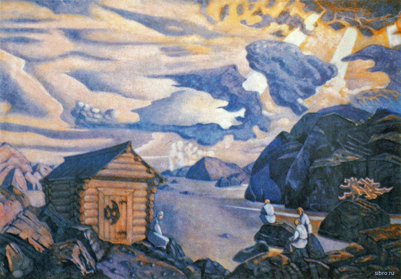 Н.К. Рерих. ВЕЧНОЕ ОЖИДАНИЕ. 1917