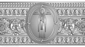 Художественное оформление нового Валаамского колокола. Разработка Общества церковных звонарей