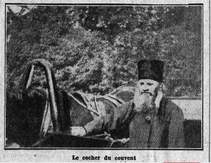 Валаамский извозчик (Faugier S. Chez les deniers moines Russes // Le Matin, 11.08. 1933)