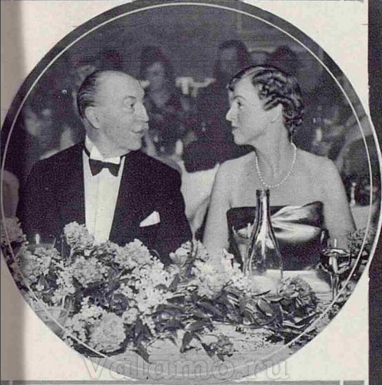 Франклин Зингер с принцессой Капече Дзурло. Источник: The Tatler, 06 January 1937.
