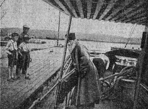 на борту Valamon-Luostari