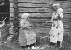 жительницы деревни Корписелка (Korpiselka)