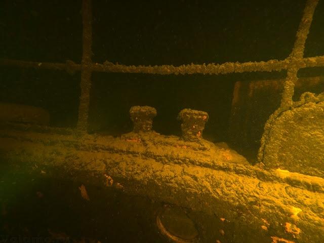 Теплоход «Valamon Luostari» на дне Ладожского озера. 2019. Фото: «Атрина».