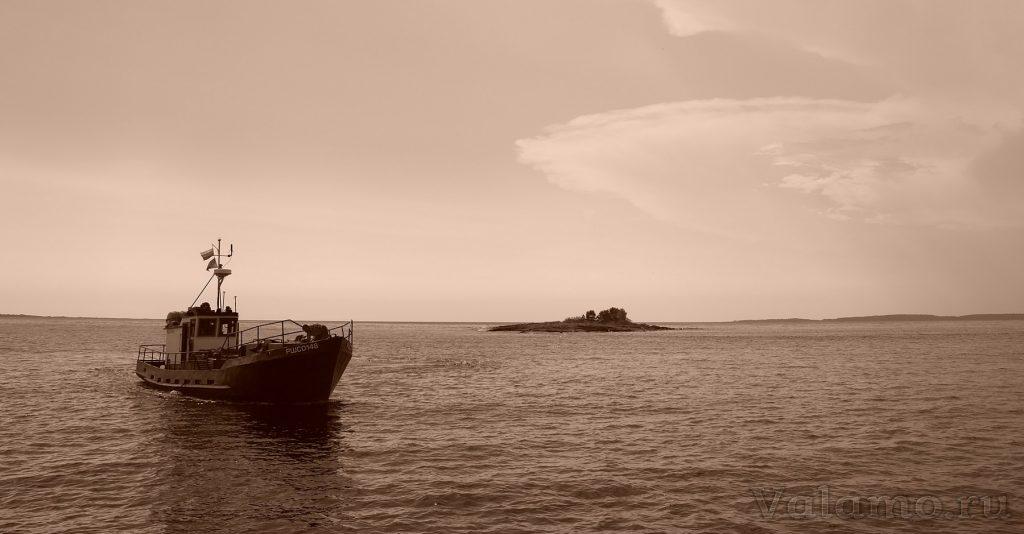 Вид со Святого острова. Валаам. Фото: Я. Гайдукова, 2014.