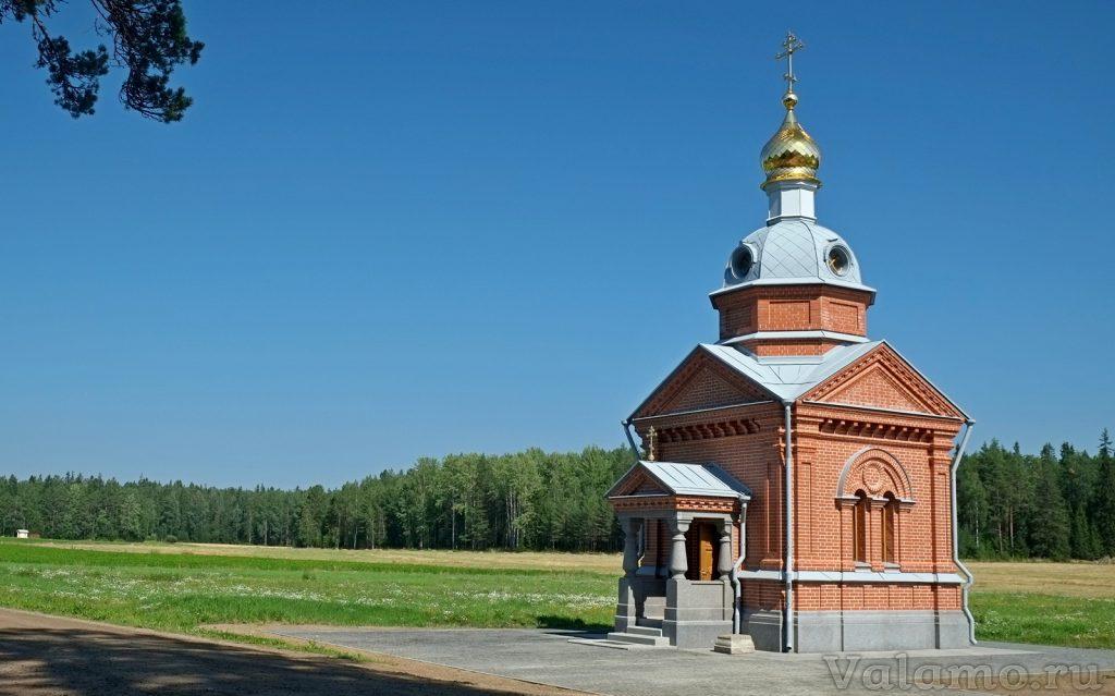 Часовня преподобного Германа Аляскинского — новая архитектурная страница сайта Valamo.ru  Что нового  что нового