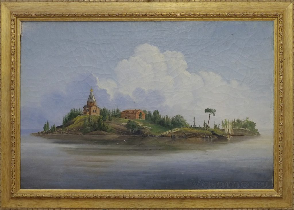 А.Е. Воронков. Никольский Скит. Валаам. 1861