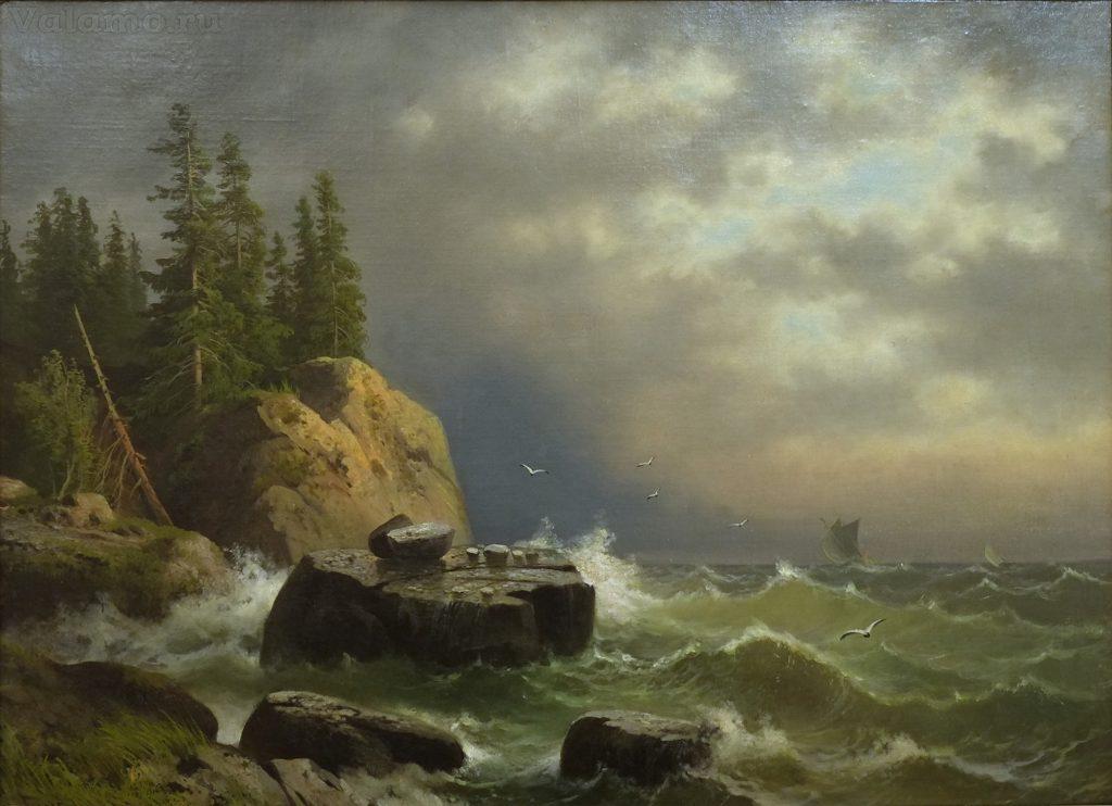 gine. a. v. ostrov valaam. mezhdu 1858 i 1861.