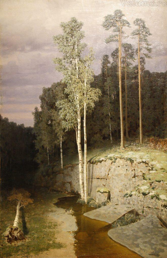 Куинджи. На Валааме. 1872. 110х71,5. Тульский областной художественный музей