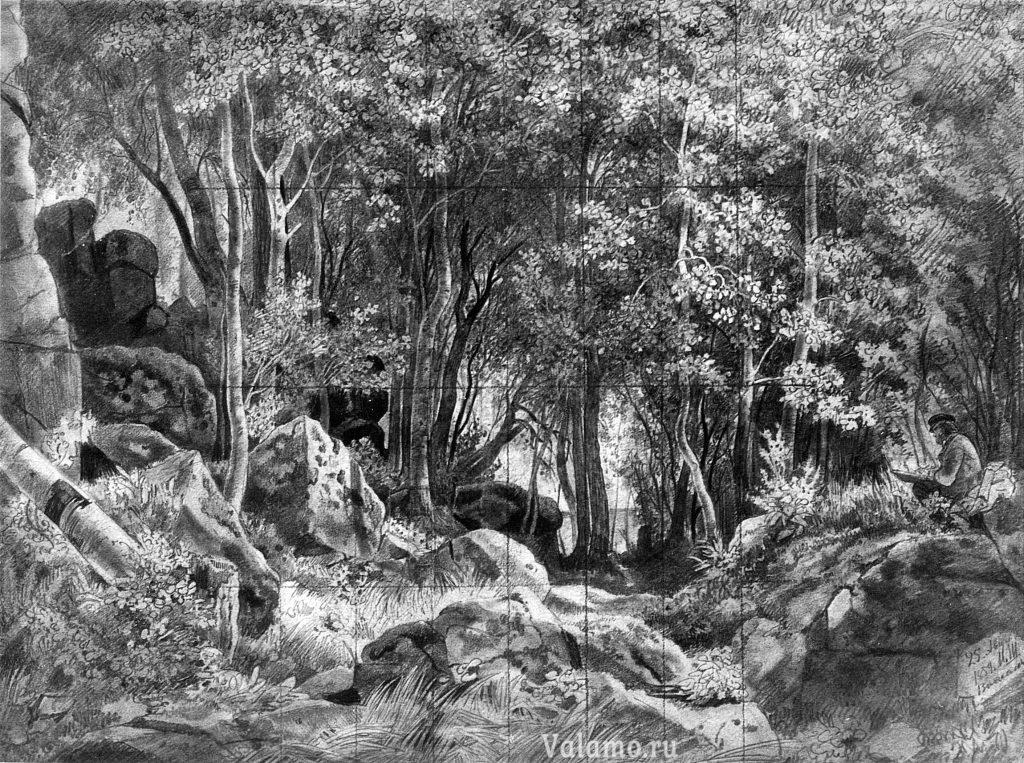 shishkin.-valaam.-les-na-kamnyax.1858.42x57.ed_
