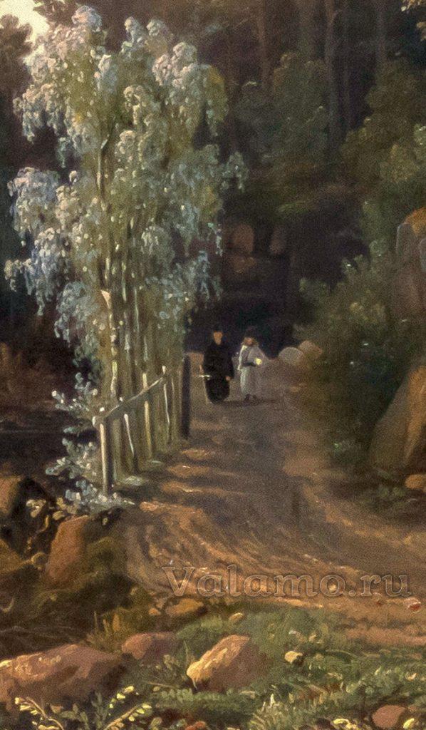 dorogafragm.-davydov-i.-vid-valaamskogo-monastyrya-s-yu-z-storony.-1853